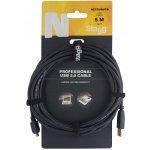 Stagg NCC5UAUCA USB 2.0 USB/mikro USB, 5m
