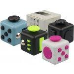 Fidget Cube antistresová kostka šedý/černý