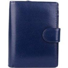 Italské Peněženky 8075 blu Modrá
