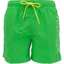 Tommy Hilfiger pánské zelené plavky Avery