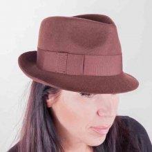 aeaa00afb2c Assante Hnědý dámský klobouk 86969