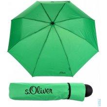 Deštník skládací s.Oliver Fruit-Cocktail 70801SO19 zelený-1, S´oliver