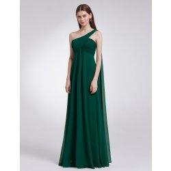 df6a7954ddeb Dlouhé šaty na rameno i pro těhotné zelená