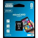 Goodram microSDHC 8GB class 4 75010100