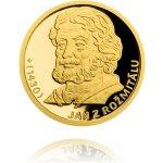 Česká mincovna Sada čtyř zlatých mincí Šlechtický rod Pánů z Rožmitálu 12,44 g