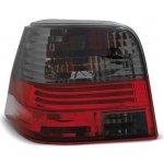 TUNING TEC Zadní čirá světla VW Golf IV 98-03 - kouřové/červené