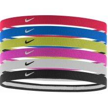 Nike Čelenka SWOOSH SPORT HEADBANDS 6PK 2.0 NJND6951OS-951