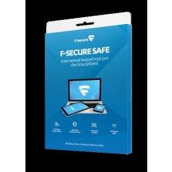 F-Secure SAFE 3 lic. 1 rok (FCFXBR1N003E1)
