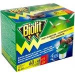 Biolit elektrický odpařovač s tekutou náplní proti komárům 60 nocí