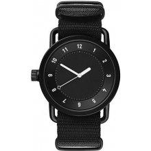 TID Watches No.1 Black / Black Nylon Wristband