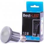 Best-Led žárovka R63 240V 7W 600lm studená bílá