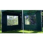 Garthen 428 Sada 2 bočních stěn pro PROFI zahradní stan 3 x 3 m - zelená