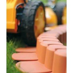 Záhonový obrubník, zahradní lem, obrubník plastový Palisáda zahradní HAPPY GRASS 3,1 m - AKCE 20%