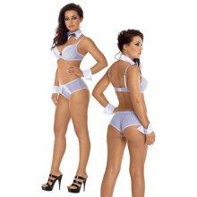 Roxana Sexy sekretářka set uniform XL/white 3265200204