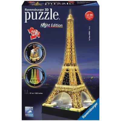 Ravensburger Eiffelova věž (Noční edice) 3D 216d