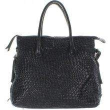 Another bag La Serei L Plaited shopper černý