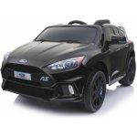 Beneo elektrické autíčko Ford Focus RS Černé 12V EVA kola čalouněný sedák 24 GHz DO 2 X MOTOR USB Bluetooth Radio