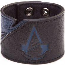 Bioworld Merchandising Assassins Creed Unity náramek s modrým logem 124