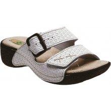 Santé dámské zdravotní pantofle bílé