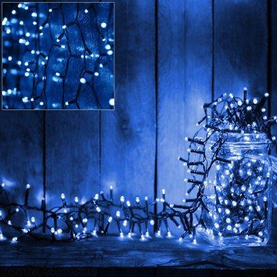 Goleto Vánoční LED osvětlení 10,5 m | modrá 160 LED