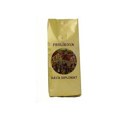 Frolík Frolíkova Diplomat zrnková Káva 1 kg
