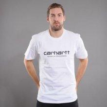 Carhartt WIP Wip Script Tee bílé