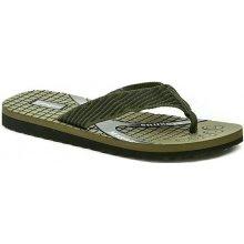 Cortina.be Pánská letní obuv 64 0802 s1 zelené plážovky