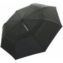 LifeVenture Trek Umbrella Medium Black lehký a odolný deštník