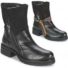 Felmini kotníkové boty CLARA Černé