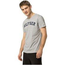 ceec1db7c39 Tommy Hilfiger Pánské pohodlné triko Cotton Icon SS Tee Logo UM0UM00054-4  Grey Heather