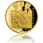 Česká mincovna Zlatá mince 5000 Kč 2018 Zvíkov proof 15,55 g
