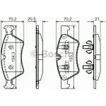 Brzdové destičky a čelisti Bosch