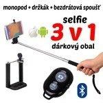 Neven Monopod - teleskopický držiak na selfie + Bluetooth spúšť fotoaparátu