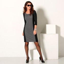 497e3e656c57 Blancheporte šaty z úpletu Milano černá bílá alternativy - Heureka.cz