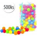Plastové míčky do bazénu 500 ks