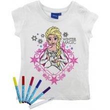 ReDraw Dívčí kreativní tričko Frozen
