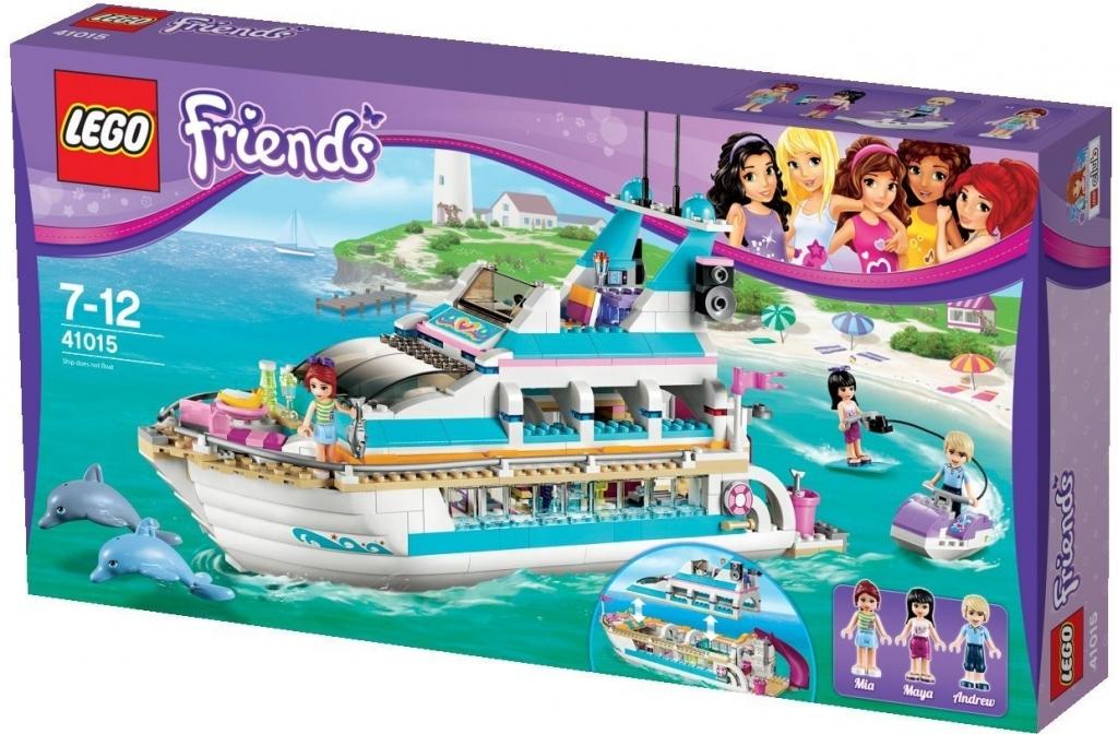Lego Friends 41015 Výletní loď za delfíny od 4 800 Kč - Heureka.cz 7b1a221c5ba