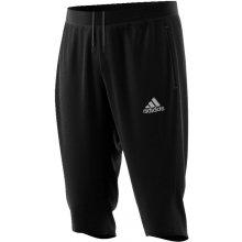 Adidas Tréninkové 3/4 tepláky Core 15 černé-Bílá