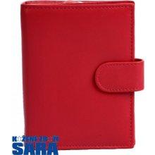 Arwel 511 9769 dámská kožená peněženka červená