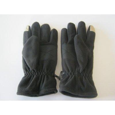 Vyhřívané flísové rukavice na 2 x 3AA baterie s dotykovou plochou