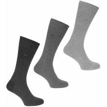 bb39df587 Calvin Klein Calvin 3 Pack Socks Mens Charcoal