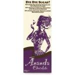 Ananda Chocolate Bye Bye Sugar! Hořká bez cukru s banánovým pyré Bio 50g