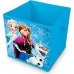 ELI Úložný skládací box FROZEN modrý 28x28x28
