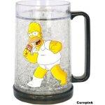 CurePink Chladící korbel The Simpsons/Simpsnovi: Home 400 ml plast