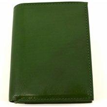 Arteddy Pánská kožená peněženka zelená 283e6d0644