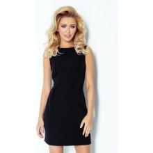 Numoco dámské společenské šaty Madlene bez rukávů krátké černá 42906a5ca7