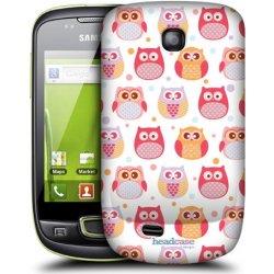 Pouzdro na mobilní telefon Pouzdro HEAD CASE Samsung Galaxy Mini S5570 VYKULENÉ SOVIČKY