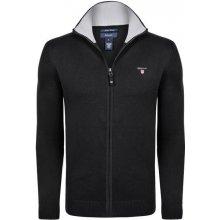 GANT pánský svetr černý na zip