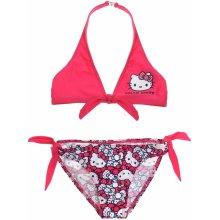 LamaLoli Plavky Hellou Kitty dvoudílné růžové