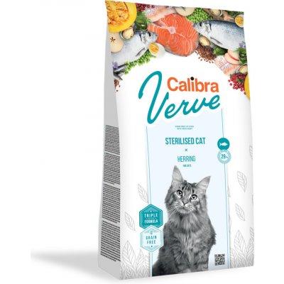 Calibra Cat Verve GF Sterilised Herring 750 g